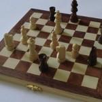 木製チェス