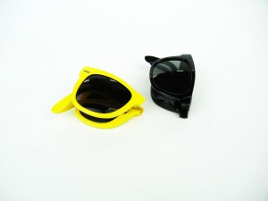Folding sunglasses Fashion Glasses Yellow Black Pulse