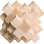 木製立体パズル ダイヤ
