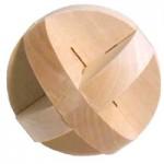 木製立体パズル 丸型