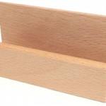 木製カードスタンド